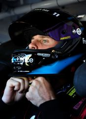 Denny Hamlin in car - Photo Credit: Rusty Jarret/Getty Images for NASCAR
