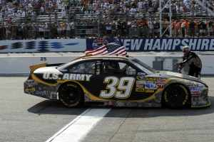 Ryan Newman will be back in the U.S. Army Chevrolet for Sunday's Sprint Cup race in Watkins Glen, N.Y. The last time he drove the Soldiers' car he won the July 17th race at New Hampshire Motor Speedway. - Photo Credit: Cameras In Action