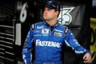 Ricky Stenhouse Jr., driver of the No. 6 Fastenal Ford, stands in the garage area - Photo Credit: Patrick Smith / Getty Images for NASCAR