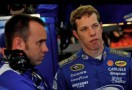 Penske Racing's Paul Wolfe and Brad Keselowski - Ronald Martinez/Getty Images for Texas Motor Speedway