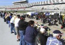 Fans watch testing from the Sprint Fan Zone during Daytona Preseason Thunder at Daytona International Speedway on Jan. 12 in Daytona Beach, Fla. - Photo Credit: Jerry Markland/Getty Images for NASCAR