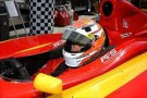 2012 FILS Sebastian Saavedra in car - Photo Courtesy of INDYCAR/LAT USA
