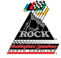 "Rockingham ""The Rock"" Speedway Logo"