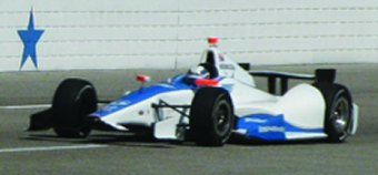 Sarah Fisher Hartman Racing&#039;s Josef Newgarden at Texas Motor Speedway during rookie test