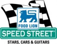 "Food Lion Speed Street - ""Stars, Cars & Guitars"" Logo"