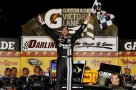 Jimmie Johnson in victory lane at Darlington for his first win of the NSCS season and Hendrick Motorsports' 200th win - Photo Credit: Todd Warshaw/Getty Images for NASCAR