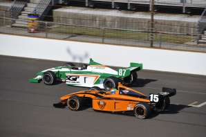 Peter Dempsey and Chase Austin at Indianapolis -- Photo by: Jim Haines for IMS