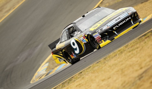 Marcos Ambrose on track - Photo Credit: Ezra Shaw/Getty Images for NASCAR
