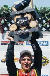 Clint Bowyer Wins Sonoma - Photo Credit: Chris Gray/Getty Images