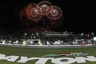 Fireworks at Daytona International Speedway