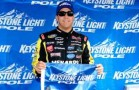 Matt Crafton Pole Award - Photo Credit: Jared C. Tilton/Getty Images for NASCAR