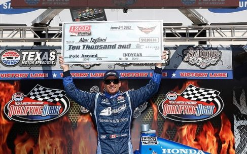 For the Second Consecutive Year, Tagliani Captures the IZOD IndyCar Series Firestone 550(k) Pole at TMS - Photo Credit: INDYCAR/LAT USA