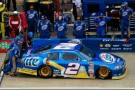 Brad Keselowski, No. 2 Miller Lite Dodge Charger Pit Stop - Photo Credit: Kevin C. Cox/Getty Images for NASCAR
