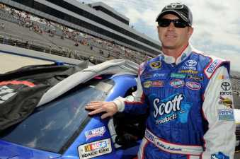 Bobby Labonte driver of the No. 47 Scott Products Toyota Camry - Photo Credit: Getty Images for NASCAR