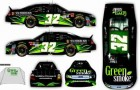 No. 32 Green Smoke FAS Lane Racing Car for Atlanta