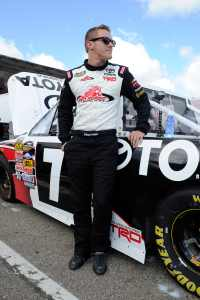 Parker Kligerman by truck - Photo Credit: John Harrelson / Getty Images for NASCAR