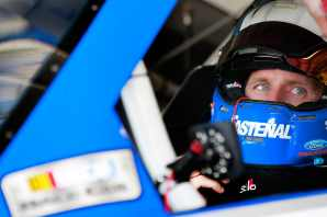 Carl Edwards In No 99 Fastenal Ford - Photo Credit: Geoff Burke/Getty Images for NASCAR