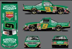 No. 9 Smokey Mountain Chew Chevrolet Silverado