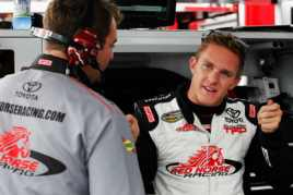 Parker Kligerman (Driver of the No. 7 Toyota/Red Horse Racing Toyota Tundra - Photo Credit: Tyler Barrick/Getty Images