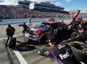 The #11 FedEx Freight Toyota, pits - Photo by Rainier Ehrhardt/Getty Images