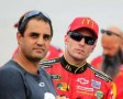 Juan Pablo Montoya and Jamie McMurray - Photo Credit: Sean Gardner/Getty Images
