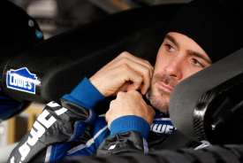 Jimmie Johnson in car - Photo Credit: Tyler Barrick/Getty Images