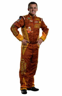 Austin Dillon Sporting His Honey Nut Cheerios Driver Suit