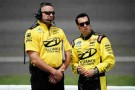 NNS No. 12 Alliance Truck Parts/Penske Racing Crew Chief Chad Walter (L) and Driver Sam Hornish Jr (R) - Photo Credit: Jared C. Tilton/Getty Images