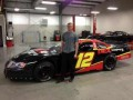 No 12 DEX Imaging Chevy with Driver Brandon McReynolds