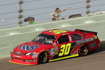 NSCS No. 30 Swan Racing Toyota Camry driven by David Stremme