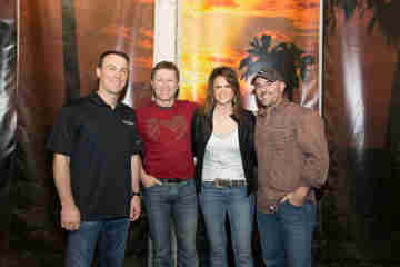 Kevin Harvick, Craig Morgan, Bridgette Tatum and Matt Stillwell. Photo Courtesy of Coy Townson Photography.