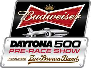 2013 Budweiser Daytona 500 Pre-Race Show Featuring the Zac Brown Band