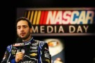 Driver Jimmie Johnson speaks to the media during 2013 NASCAR media day at Daytona International Speedway on February 14, 2013 in Daytona Beach, Florida. - Photo Credit: Jonathan Ferrey/Getty Images
