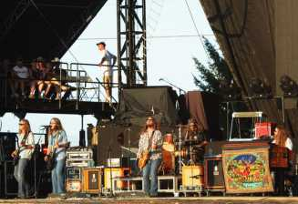 Blackberry Smoke on Stage - Photo Credit: Rick Diamond/Getty Images