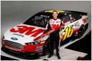 Greg Biffle and the No. 16 Give Kids A Smile 3M Ford Fusion