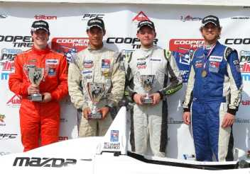 Alberico Sweeps Cooper Tires Winterfest at Sebring