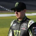 Kyle Busch, driver of the #54 Monster Toyota - Photo Credit: Sam Greenwood/Getty Images