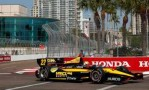 Oriol Servia of Spain, drives the Panther DRR Dallara Chevrolet - Photo Credit: Chris Trotman/Getty Images