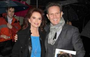 """Survivor"" producer Mark Burnett and his wife Roma Downey stop by 'Good Morning America' in New York CIty, New York on February 27, 2013. - Photo Credit: FameFlynet Pictures"