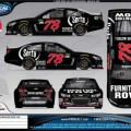 Rendering of the No. 78 Furniture Row/Serta Chevrolet SS