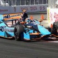 2013 IICS Driver Alex Tagliani in the No. 98 (Team Barracuda) at Long Beach