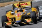 2013 IICS Ryan Hunter-Reay in the No. 1 DHL/Andretti Autosport Dallara/Firestone/Chevrolet - Photo Credit: Firestone Racing