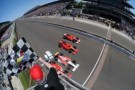 The closest oval finish in IMS history -- Photo by: Walt Kuhn for IMS