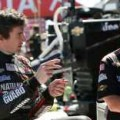2013 IICS Driver JR Hildebrand and Panther Racing Crew Member Talk Strategy - Photo Credit: Chris Jones/INDYCAR