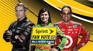 NASCAR Sprint Fan Vote