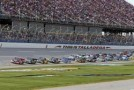 James Buescher Leads The Field At Talladega (Ala.) Superspeedway In The fred's 250
