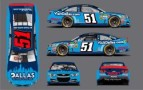 No. 51 Visit Dallas Chevrolet SS Layout