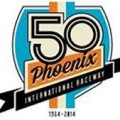 Phoenix International Raceyway 50th Anniversary Logo