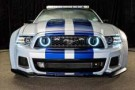 "2013 Ford EcoBoost 400 Pacecar - The ""Need for Speed"" Mustang Frontal View"