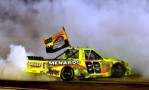 Matt Crafton Celebrates His 2013 NASCAR Camping World Truck Series Championship At Homestead-Miami (Fla.) Speedway